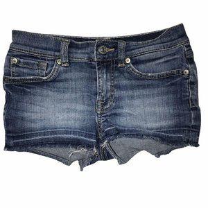 7 for all Mankind Raw Hem Distressed Shorts 10
